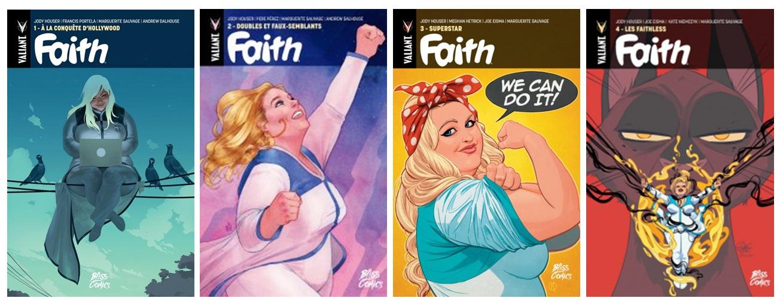 Faith - Le marche-pages